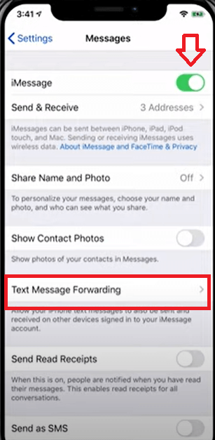 How to Sync iPhone Messages to Mac